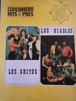 Revista - Los Gritos / Los Diablos - Cancionero Hits Press Años 70