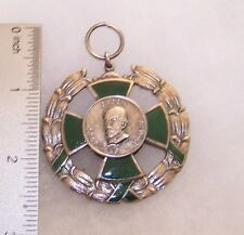 Columbia Order of J Fernandez, Madrid League Medal