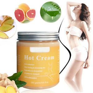 250 Anti Cellulite Creme Chaude Relaxation Musculaire Minceur-profon Amincissant
