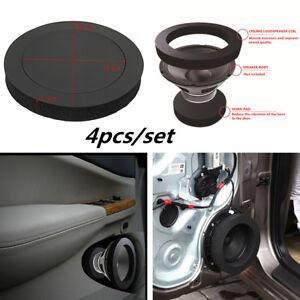 6.5'' Car Truck Door Speaker Ring Bass Sound Insulation Cotton Rubber Trim Foam