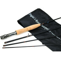 Fly Fishing Rod Fly Rod Graphite Medium Action Rod 8' 9' for 3/4 5/6WT Trout Rod