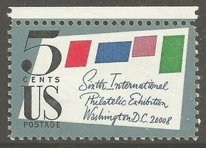 U.S. #1310 1966 5¢ SIPEX MINT Commemorative Stamp