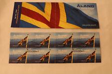 B-5-60 Aland Markenheftchen booklet gestempelt 1 MH mit 8x MiNr. 234 Flagge