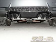 3D II Type Carbon Fiber Rear Bumper Diffuser BMW E92 E93 M3 Coupe Convertible