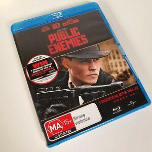 Public Enemies (Johnny Depp) (2009) (MA15+, Blu-Ray, B) Never Played FREE POST