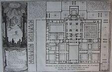 ESCURIAL, MADRID, Espagne :  PLAN GÉNÉRAL DU MONASTERE ROYAL ST. LAURENS  18 EME