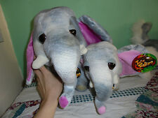 Lot of 2 Jungle Snubbies NWT new stuffed animal plush Elephants mother and baby