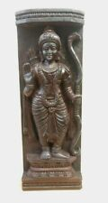 Hindu God Sri Rama Temple Wall Panel Statue Ram Maha Vishnu Avatar Sculpture Old