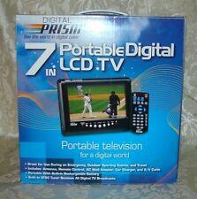 7 inch PORTABLE DIGITAL LCD TV TELEVISION by DIGITAL PRISM ATSC-710 EDTV-READY