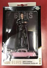 1:18 Elvis Presley Figure & 1:64 1955 Pink Cadillac Fleetwood Series 60