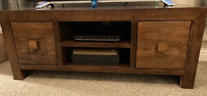 Next Dakota Solid Mango Wood TV Unit