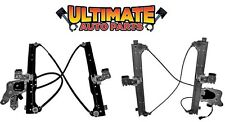 Rear Power Window Regulator Left / Right w/Motors for 01-06 Sierra (Crew Cab)
