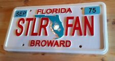 Personalized Florida Wood license plate 3d routed sign Custom