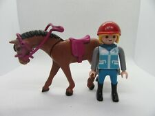 PLAYMOBIL  HORSE AND RIDER