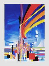 Raymond MORETTI, Architecture, 1992, Serigraphie
