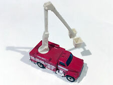 Matchbox 1989 Utility Truck Fire Dept. with Moveable Bucket 1:64