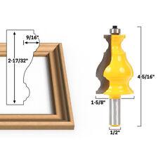 1/2Inch Shank Frame Molding Router Bit Door Woodwork Tenon Cutter Tool