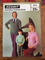 Knitting patterns.men/women/children.seamless knitting book.cardigans.jumpers