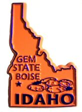 Idaho Souvenir Fridge Magnet