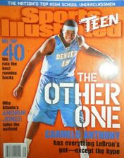 CARMELO ANTHONY sports illustrated teen THE OTHER ONE very rare NO LABEL