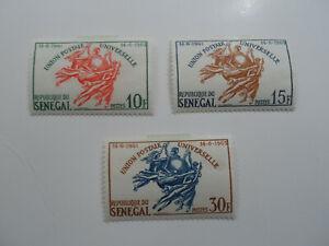 Discount Stamps : SENEGAL 1963 ADMISSION OF UPU SG#259-61 3v MLH SET