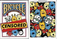 Censored Bicycle Playing Cards Poker Size Deck USPCC Custom Limited Edition New
