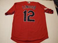 Francisco Lindor Cleveland Indians Jersey Size Large  L