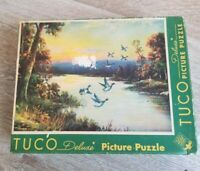 Tuco Picture Puzzle Glories Of Autumn 16'' x 20'' 300 to 500 Pieces Mallard Duck