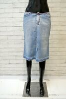GAS Donna Gonna in Jeans Taglia Size 42 Slim Cotone Skirt Women's Denim