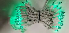 50 Teal Light String with White Cord-4 inch spacing-Bethlehem- 149628