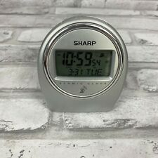 Sharp Atomic Clock SPC364 Nightstand Travel Clock Precision Battery Included