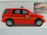 """Busch 48545 Mercedes-Benz M-Klasse (2005) """"Feuerwehr Bocholt"""" 1:87/H0 NEU/OVP"""