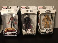 Marvel Legends Open Box Lot Maximum Venom Miles, Phage,& Morbius No BAF