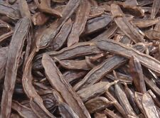 25 FRESH WHOLE MATURE CAROB PODS / Ceratonia siliqua - A Mediterranean Delicacy