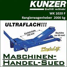 KUNZER Wagenheber WK1020F ultraflach - nur 63mm hoch!!!