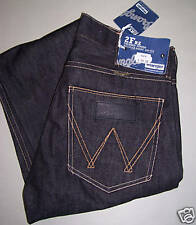WRANGLER jeans broken twill Nero gamba stretta W29 L34