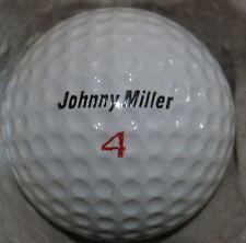 (1) JOHNNY MILLER SIGNATURE LOGO GOLF BALL (MACGREGOR COVER SURLYN CIR 1970) #4