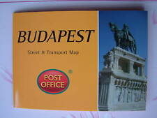BUDAPEST - Street Transport Map Pocket Guide Pop-Up NEW Capital Hungary