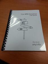 HTC SENSATION COMPLETO stampato User Guide Manuale di Istruzioni 174 pagine A5