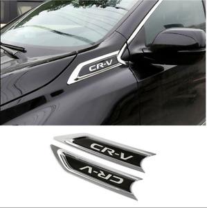 Chrome ABS Car Side Body Molding Trim Cover For Honda CRV CR-V 2017-2021