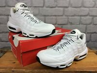 NIKE MENS AIR MAX 95 ULTRA WHITE BLACK TRAINERS VARIOUS SIZES RRP £130 T