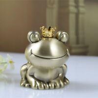 Piggy Bank Frog Money Box Metal Home Decor Kids Coin Box New Year Birthday Gift