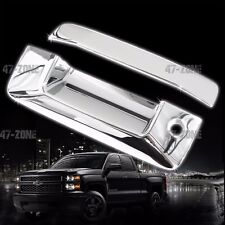 For 14-15 Chevrolet Silverado ABS Plastic Chrome Tailgate Handle Cover No Camera
