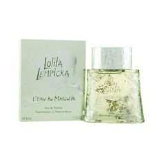 Lolita Lempicka L'EAU AU MASCULIN men's eau de toilette 50 ml 1.7 oz new in box