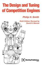 The Design & Tuning of Competition Engines Book~544pgs~Classic 1954 reprint~NEW