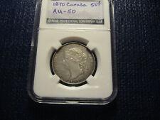 1870 Canada 50c (AU)