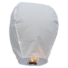 SKY LANTERN - CHINESE WISHING PAPER FLYING CANDLE-WEDDING/BIRTHDAY - ALL COLORS