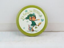 St. Patrick's Day Pin (VTG) - It's Fun to be Irish Carleton Cards -Celluloid Pin