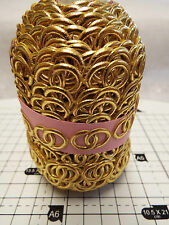 2m - Gold Wedding Rings -Trimming,Appliques,Wedding Lace Ribbon