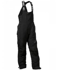CASTLE PHASE Child Youth Kids BLACK SNOW Insulated PANTS BIBS- XS- S - M - L -XL